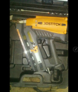 """3 1/2"""" Bostitch Gas Wire Weld Framing Nailer"""