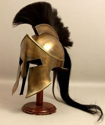 300 King Leonidas Spartan Helmet Warrior Costume Medieval Helmet Liner War Gift  - Spartan War 300