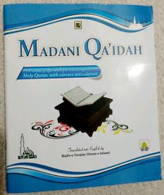 Madani Qaida English(Learn Tajweed Primary Qaida