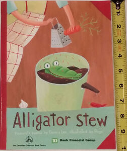 Alligator Stew - Collection of Denis Lee Poems London Ontario image 1