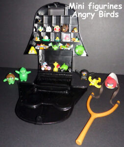 Mini figurines Angry Birds et coffret Angry Birds Star Wars