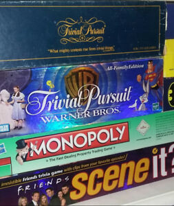 4 Board games for sale!
