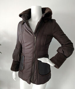 Mackage Dark Brown Puffer Coat - XS - From Sample Sale