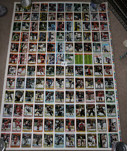 4 sheets 90-91 OPC O-Pee-Chee Hockey Uncut Sheet 132 Cards Kitchener / Waterloo Kitchener Area image 1