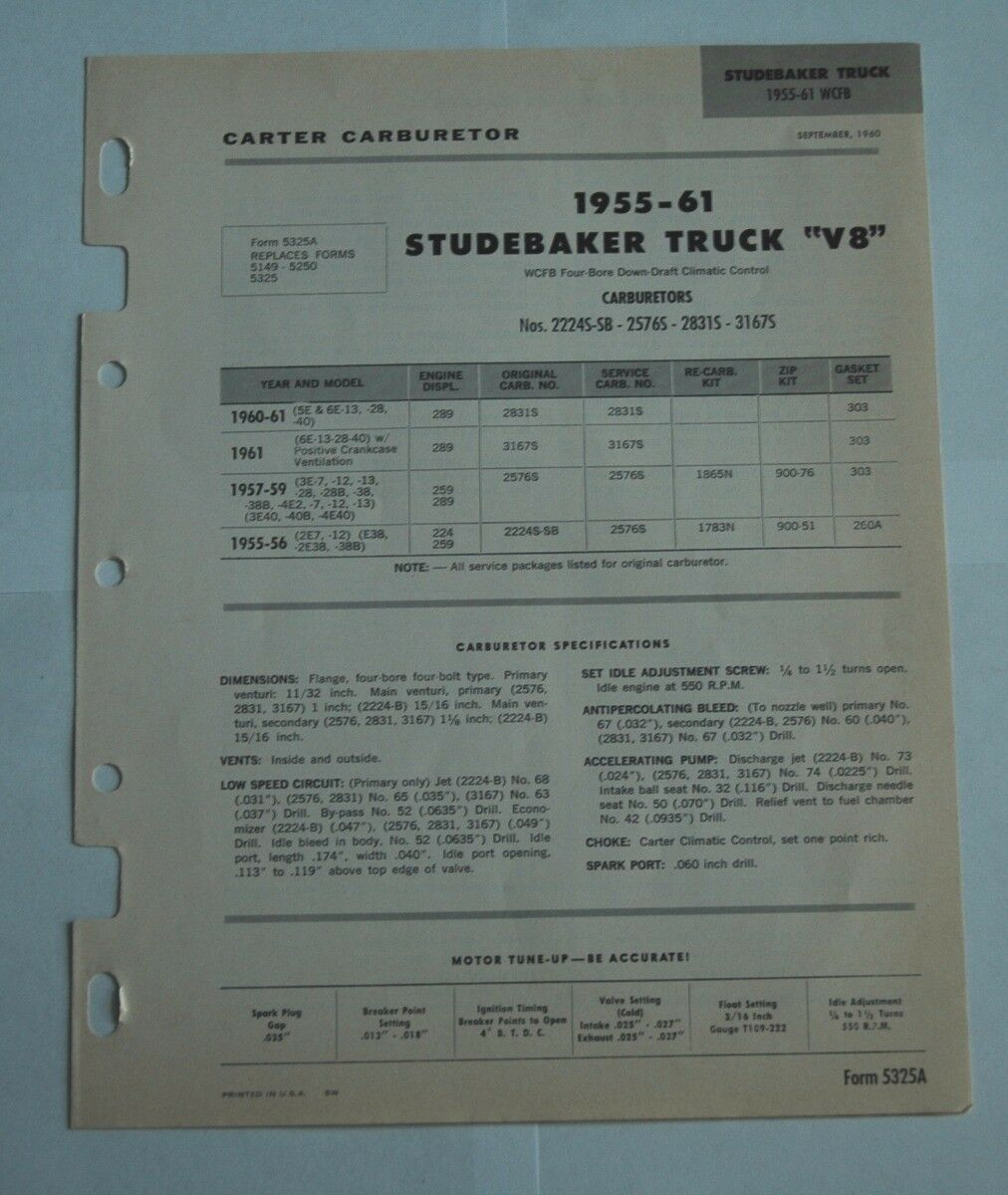 Used Studebaker Car and Truck Parts for Sale - Page 39