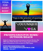 Youunique Yoga ~ Be Your Best Self