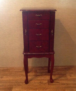 Cherrywood Jewellry Armoire/Cabinet