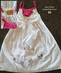 Size 5 Embroidered Girls Dress