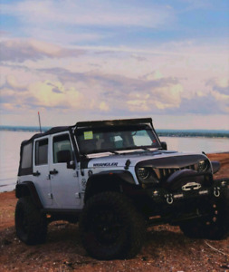 08 jeep jku (trade for a truck)