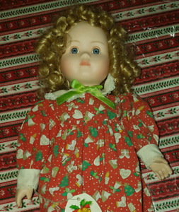 Collectable Holly china Doll