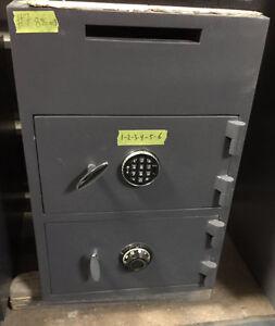 Coffre-fort en acier avec dépôt/Steel Safe with deposit drop(#7)