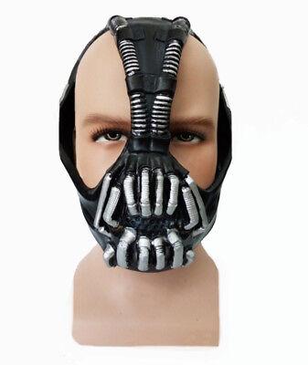 Deluxe Bane Mask Halloween Batman Dark Knight Rises Costume Mask