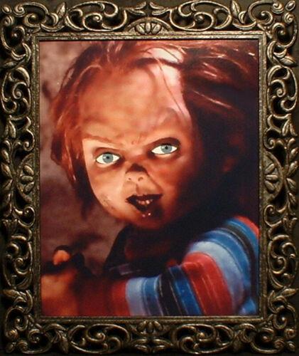 """HAUNTED Horror Chucky Doll Photo """"EYES FOLLOW YOU"""""""