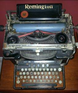 Remington Standard Typewriter # 10