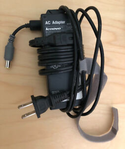 Lenovo AC adapter 90W 20V - used (includes new trackpoint cap)