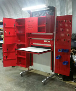 Used workbench great condition folds in half to travel