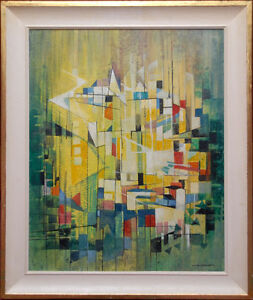 Peter Haworth Abstract - The Village 5000 Peterborough Peterborough Area image 1