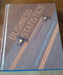 Business Statistics - Second Canadian Edition