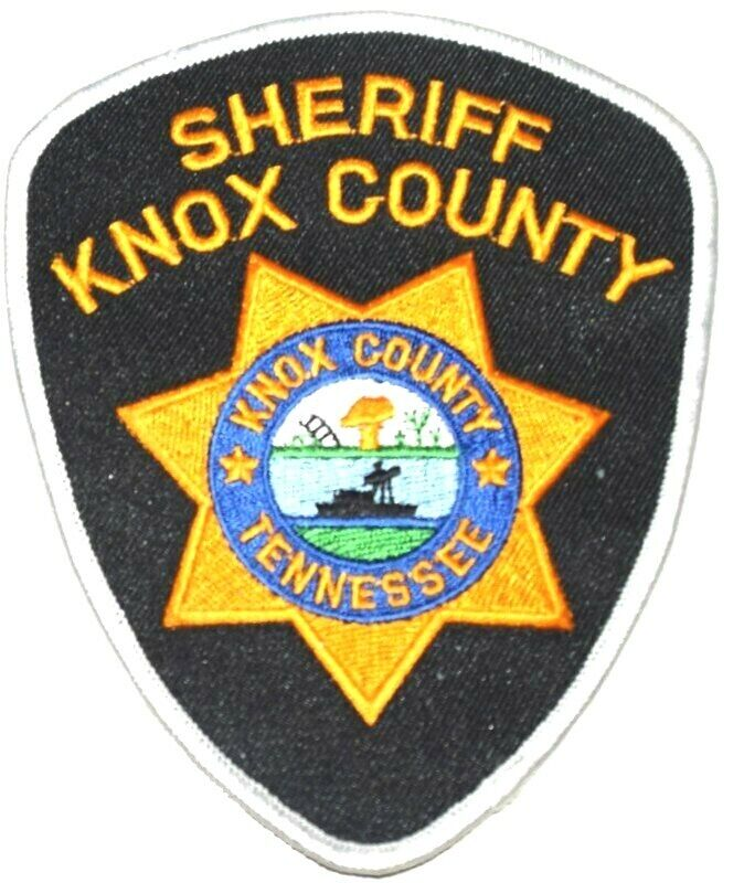 KNOX COUNTY TENNESSEE TN Sheriff Police Patch STATE SEAL RIVER PLOW SHIP ~