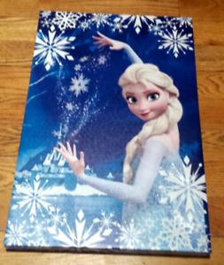 Tableau la reine des neiges