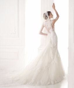 wedding Dress-Pronovias 2015-Robes mariée Création Vézina West Island Greater Montréal image 3