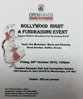 Bollywood Night and silent auction etc etc