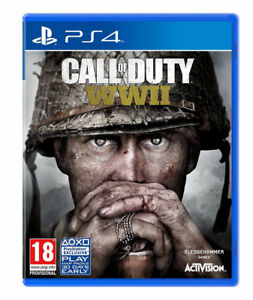 PS4 - Call of Duty WWII - Like New