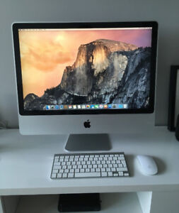 """Apple iMac 24"""" in Pristine Condition and Upgraded"""