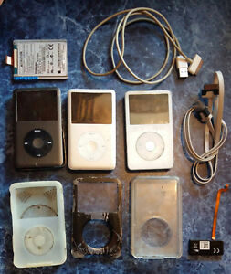 3 ipods FOR PARTS