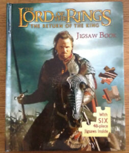 Lord of the Rings Jigsaw Puzzle Book