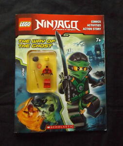 Lego Ninjago The Way of the Ghost Book + Movie Poster