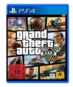 Grand Theft Auto V for PS4 With Map