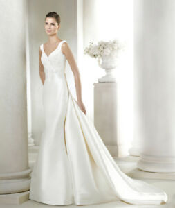 PRONOVIAS NEVER WORN Wedding Dress - SIZE 8 - $1200