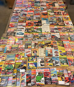 LOT of 100 plus 50's to 80's Hot Rod Custom Car Craft Magazines