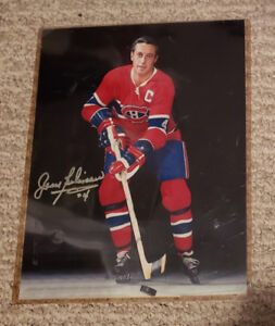Jean Beliveau autograph with certificate of authenticity