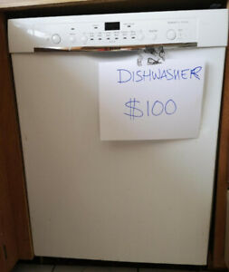 "GREAT DEAL - Newer BOSCH built-in dishwasher 23"" wide"