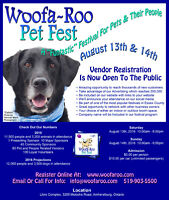 Reach over 10,000 Consumers at Woofa~Roo Pet Fest