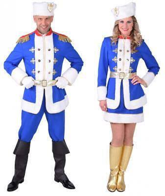 Kosake Kosaken Damen Tracht Russen Herren Russin Kostüm Kleid Kosakin Mütze Hut