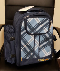 NEW High Quality Blue Picnic Backpack