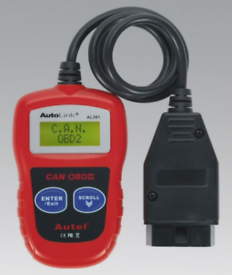Sealey Autel Al301 Engine Diagnostic Fault Code Reader Universal