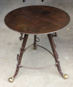 Custom, Western Theme, Accent Table or End Table