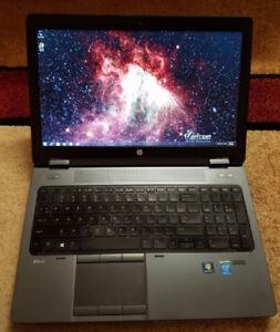 HP Zbook 15 WorkStation  i7-4810MQ 4th Gen Quad Core 16gb Ram