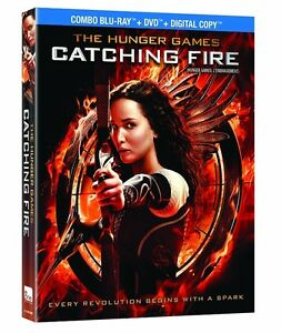 BLU-RAY! HUNGER GAMES CATCHING FIRE