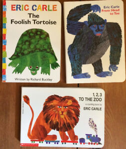 Board Books by ERIC CARLE 3 for $10