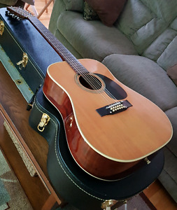 Fender F-35 12 string acoustic. Early 70's