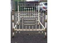Victorian Brass Double Bed