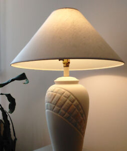LED table lamp 27""