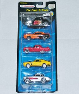 Kid Connection 5-Pack 1:64 Diecast Cars