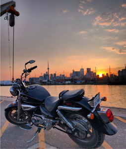 Cruiser Motorcycle Hyosung Aquila 2012 for sale - $2500