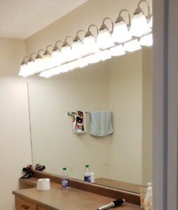 "83"" X 44"" bathroom mirror"